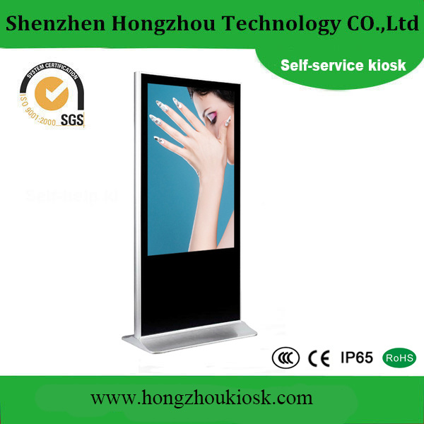 65 Inch Touch Screen Kiosk and Touch Screen Advertising Player