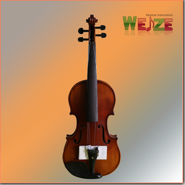 Middle Grade Antique Color Flamed  Violin