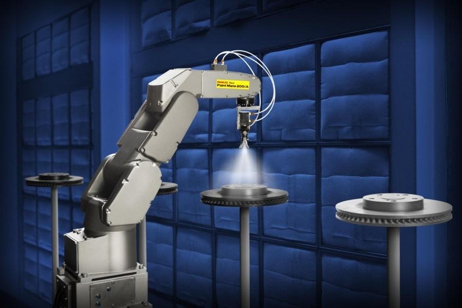 Automatic Painting Robot Spray Robotic Arm China