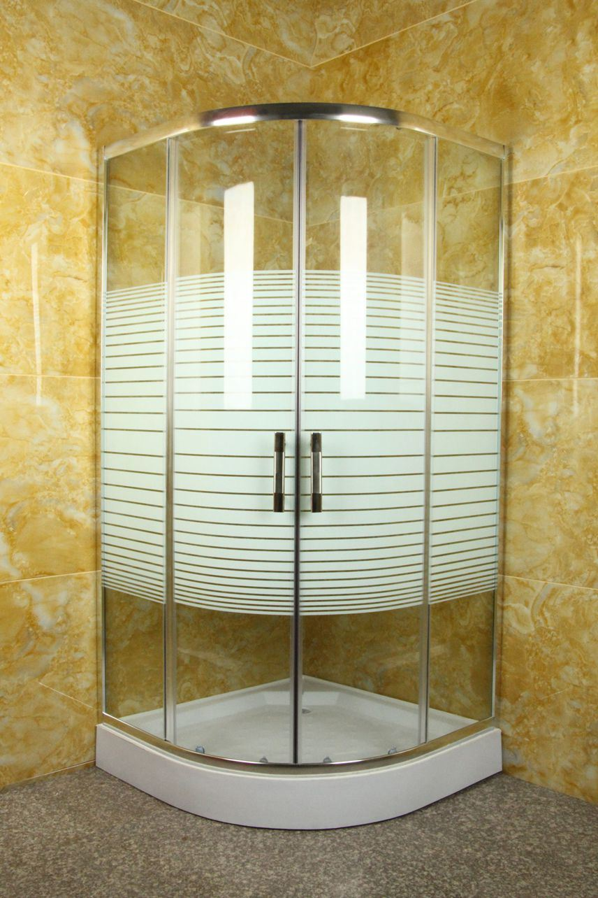 China Corner Complete Bath Glass Shower Cubicle Sizes 90 - China ...