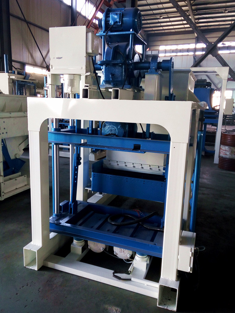 Manual Hollow Block Making Machine with Moderate Price/Manual Block Making Machine (QTJ4-20)