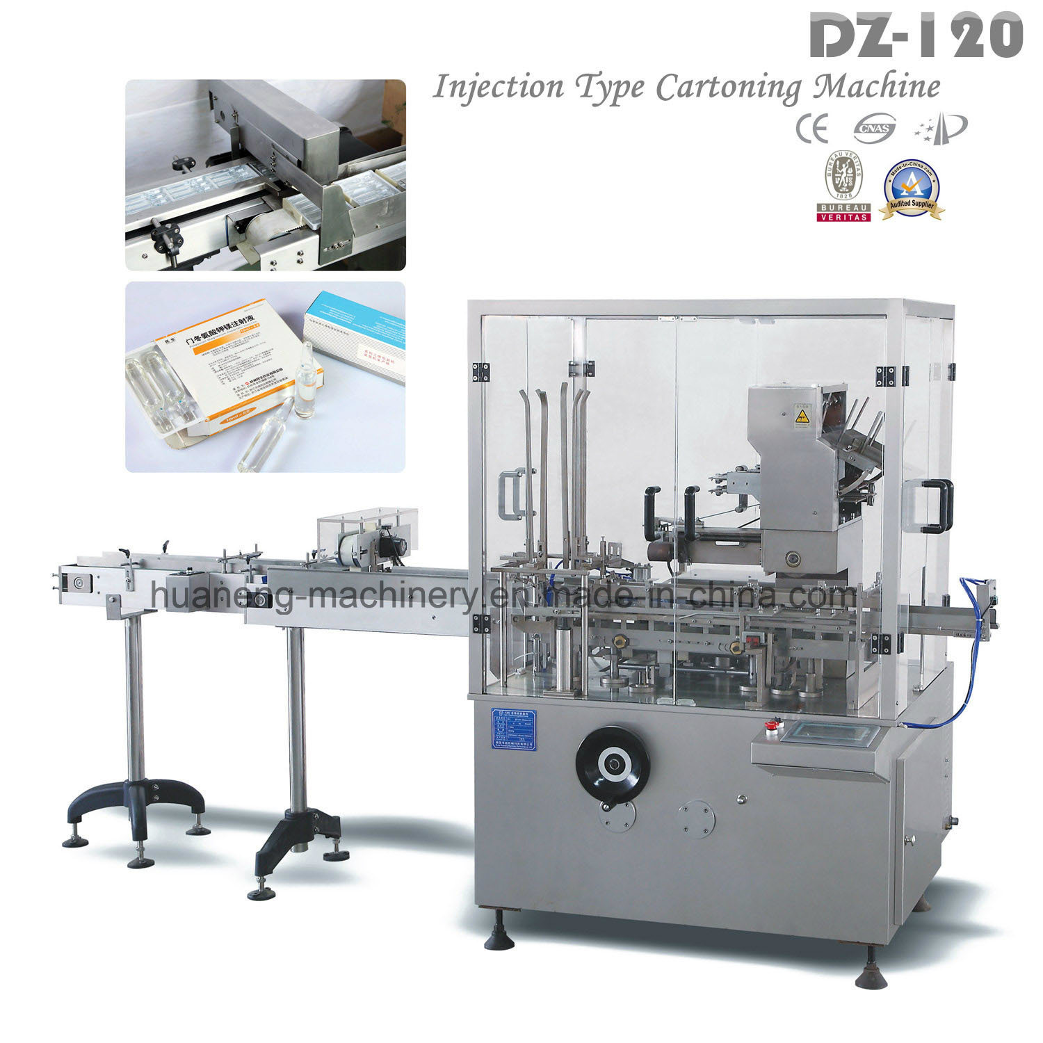 Automatic Tubes Injection Cartoning Machine (DZ-120)