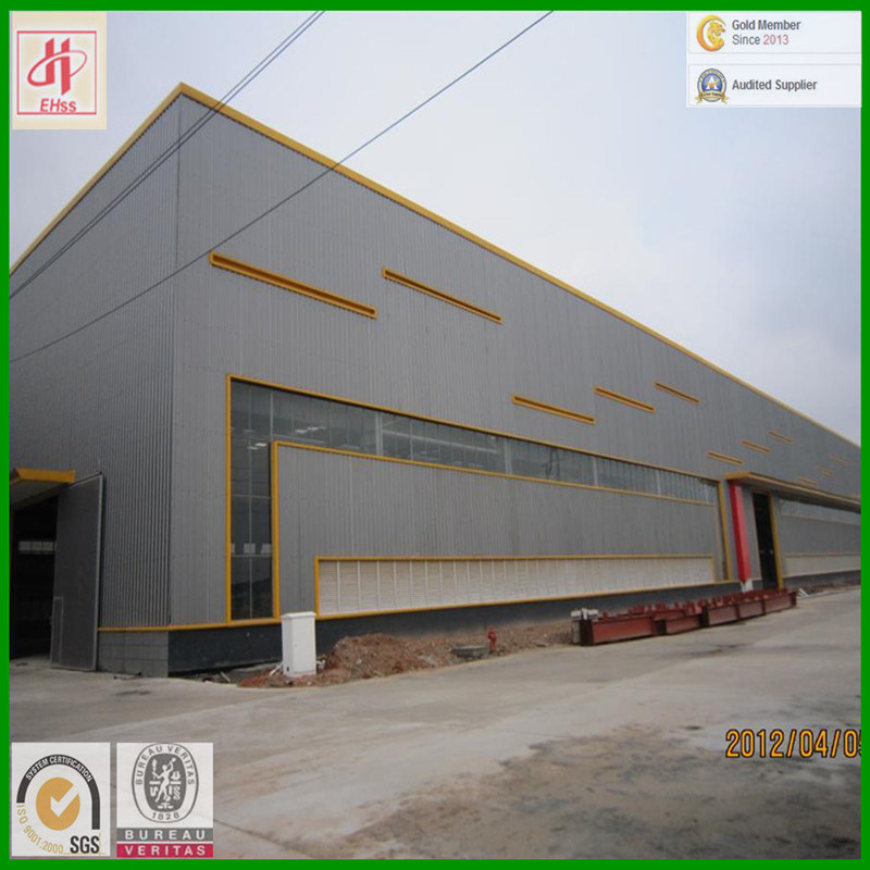 Low Cost Light Steel Building for Workshop (EHSS523) pictures & photos