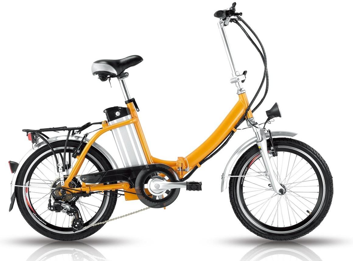 China Magnesium Aluminum Wheel Folding Electric Bike for Israel ...