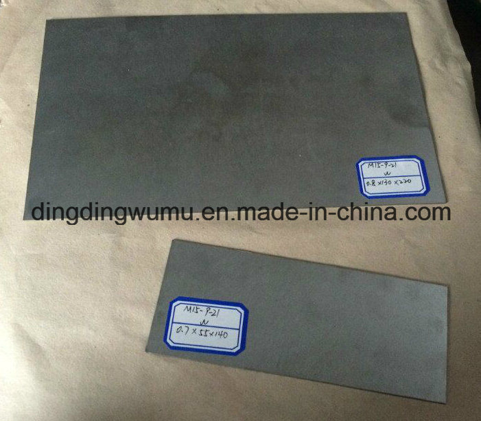 Pure Tungsten Plate for Sapphire Single Crystal Growth Vacuum Furnace