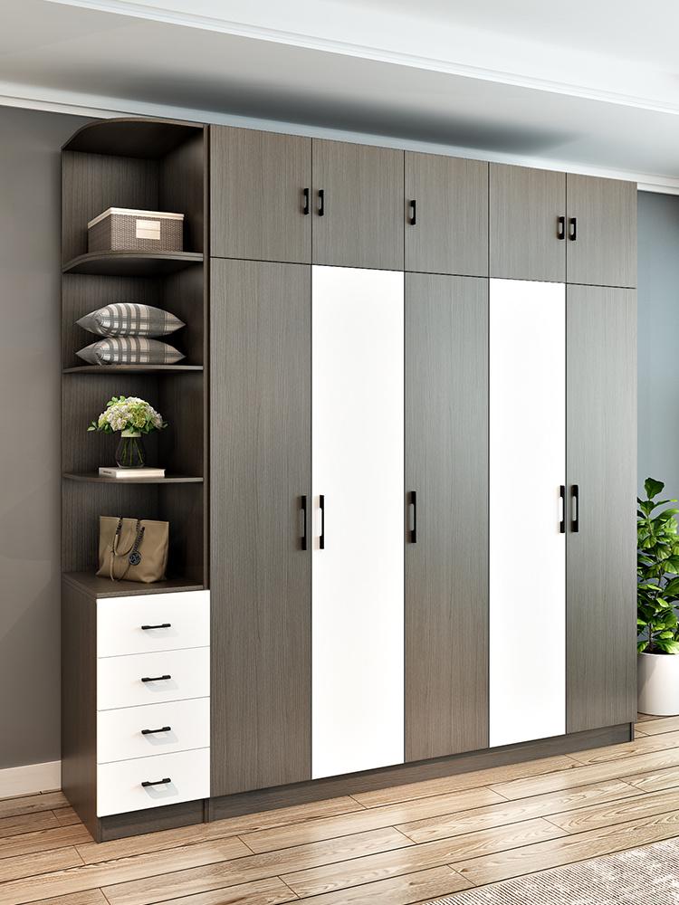 China Modern MDF Cheap2/ 3/4/5 Doors Wardrobe /Cabinet ...