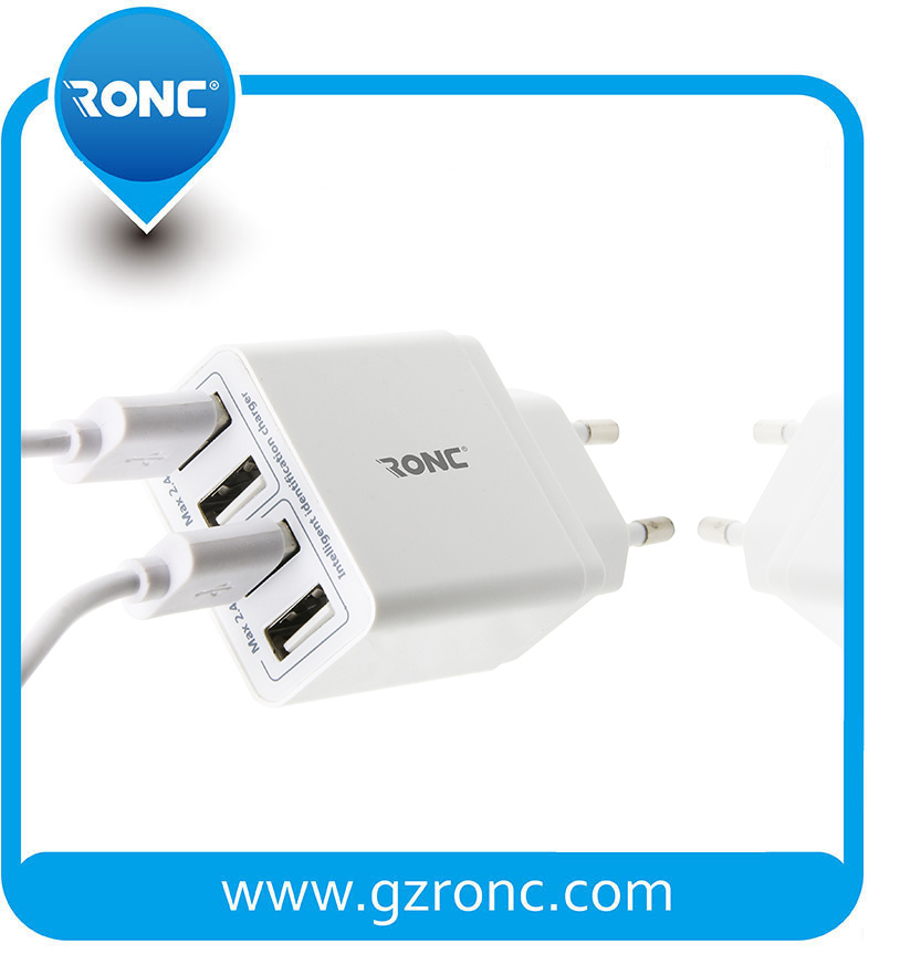 4 USB Ports Power Adaptor with Certificate pictures & photos
