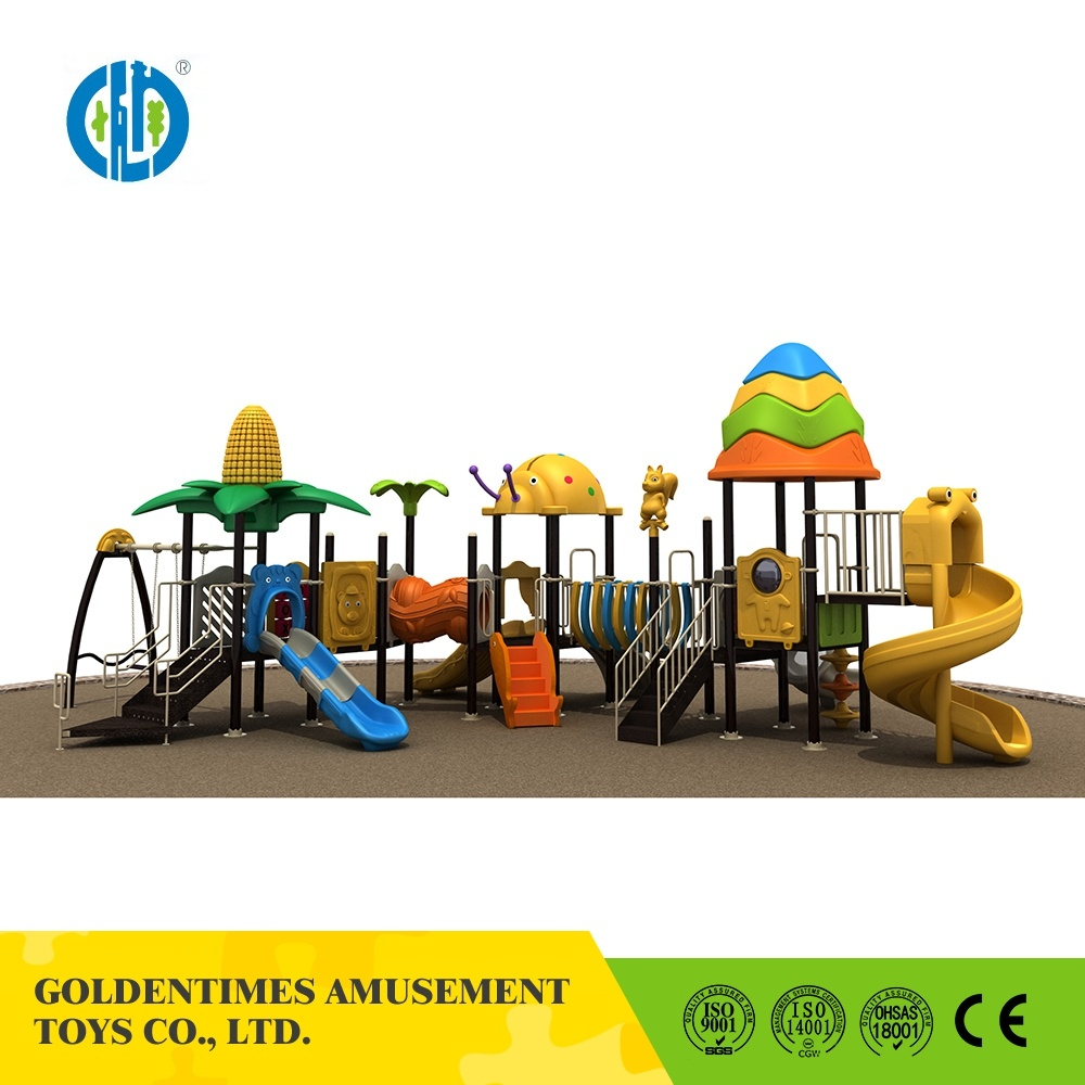 China Manufacture Custom Colorful Outdoor Play Structure Slide Playground Equipment
