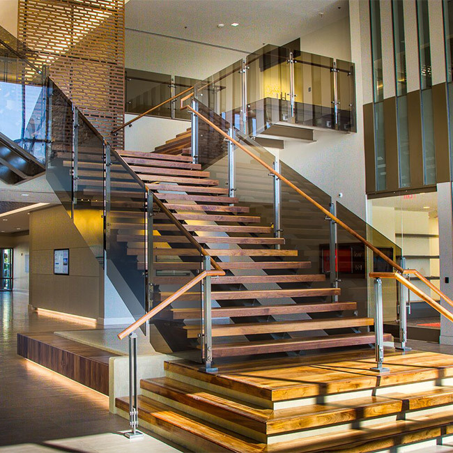 Modern Interior Staircase Materials Photo: China Modern Commercial Building Interior Use Standoff