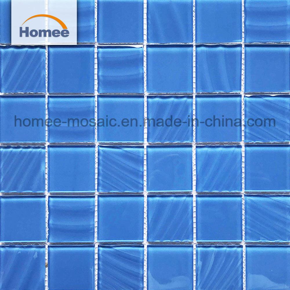[Hot Item] Blue Crystal Glass Mosaic Swimming Pool Mosaic Tile