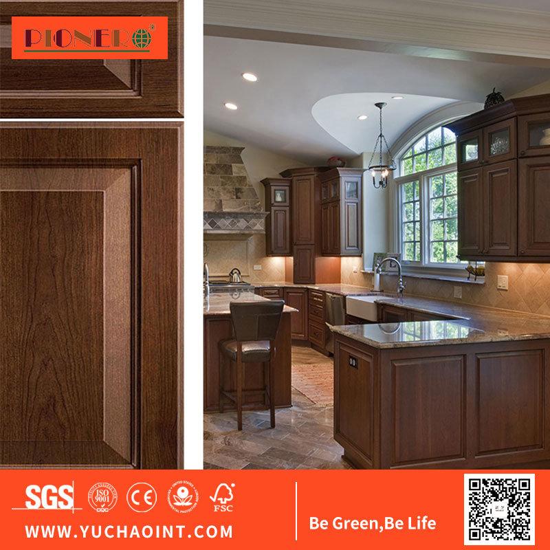 China European Style Shaker Style White Gloss Laminated Mdf Kitchen Cabinet Doors China Wooden Door Kitchen Cabinets