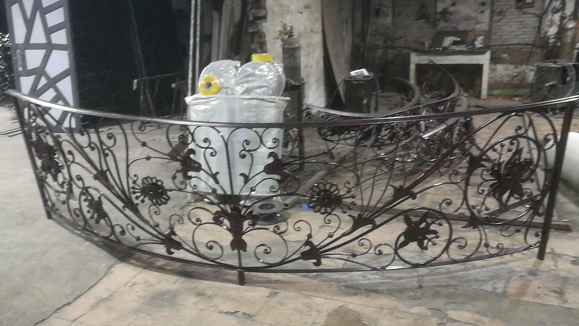 Hot Galvanized Wrought Iron Stair