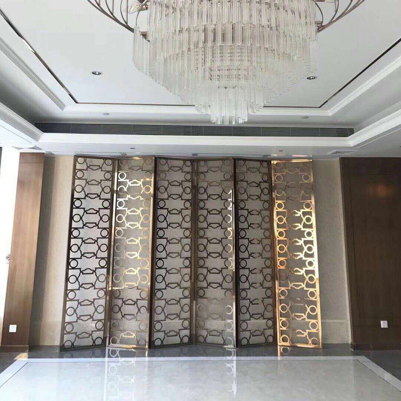 Hot Item Decorative Metal Wall Panels Stainless Steel Parion