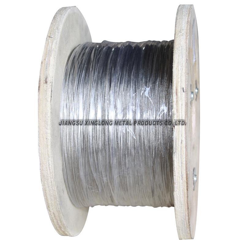 China Galvanized Steel Wire Rope(7x7-1.2) - China Galvanized Steel ...