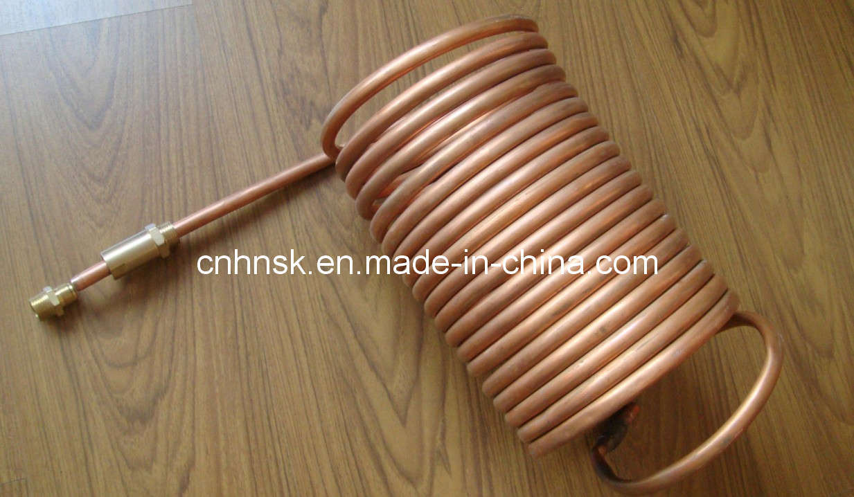 China Copper Coil Heat Exchanger China Copper Coil Heat