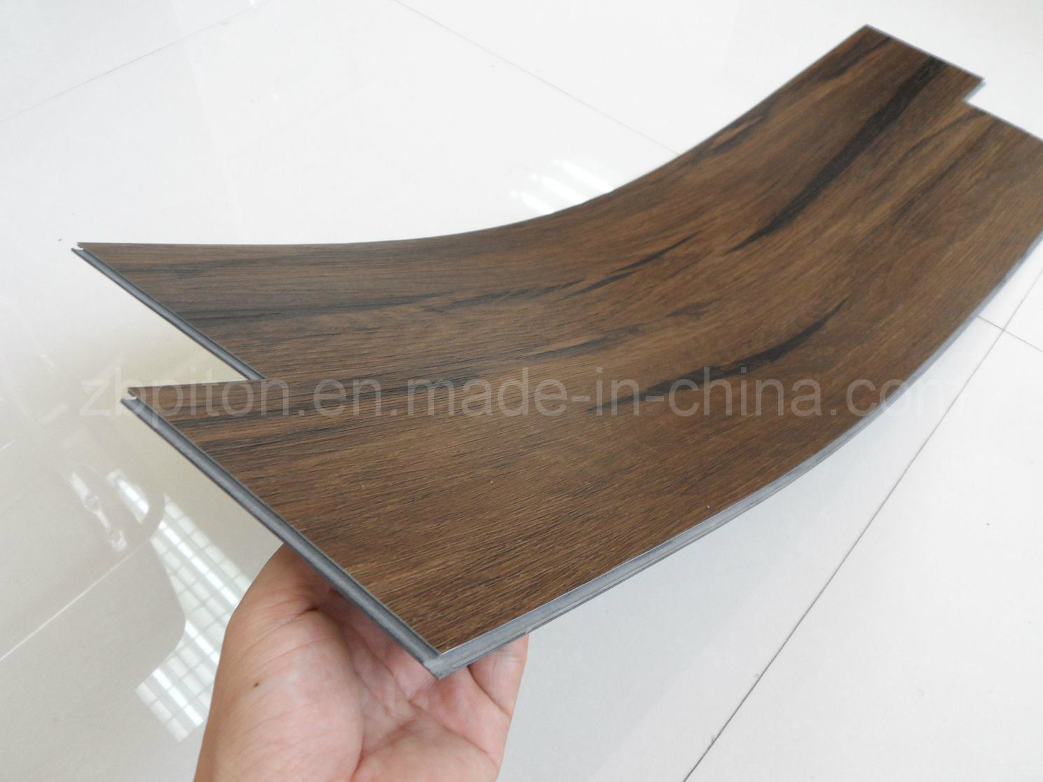 China mm vinyl plank flooring click system photos pictures