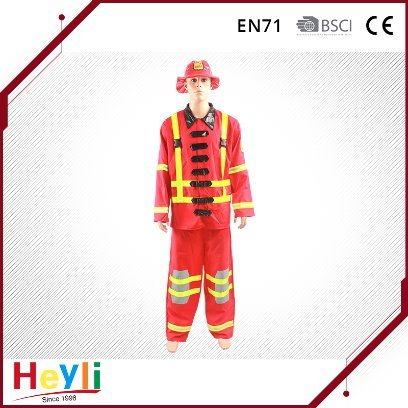 Classical Fireman Cosplay Costumes for Adult Party