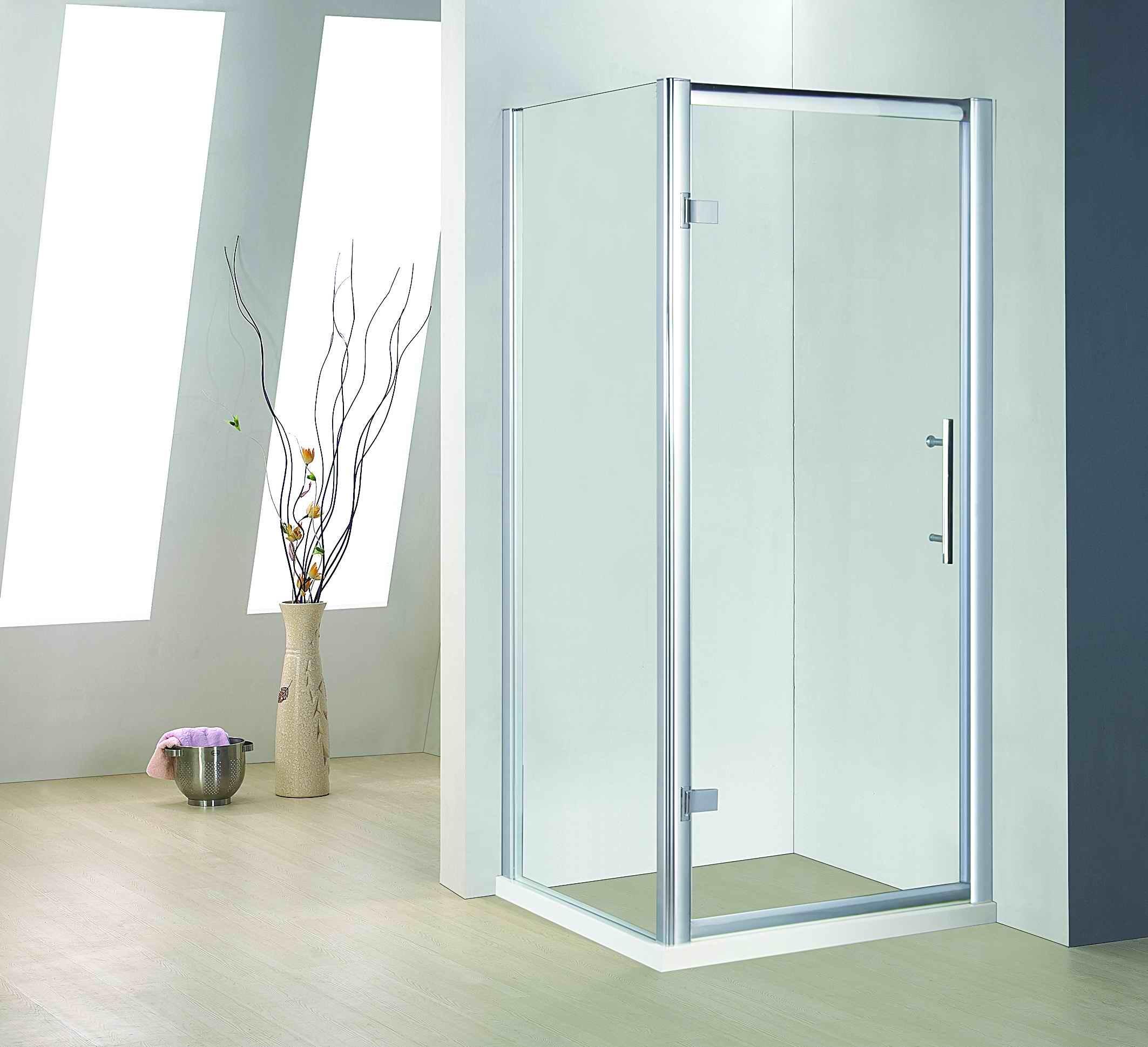 Hot Item Bt629 Bathroom 8mm Glass Aluminum Hinge Door Shower Enclosure