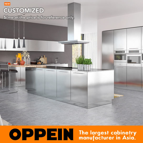 New Metal Kitchen Cabinets: China 2017 Hot Sale Modern Stainless Steel Kitchen