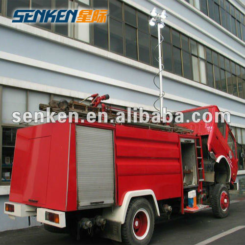China Vehicle Mounted Telescopic Mast Light Tower