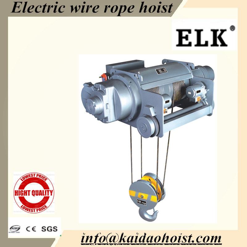 China 7.5ton Heavy Crane Hoist Use Wire Rope Lifting - China Wire ...