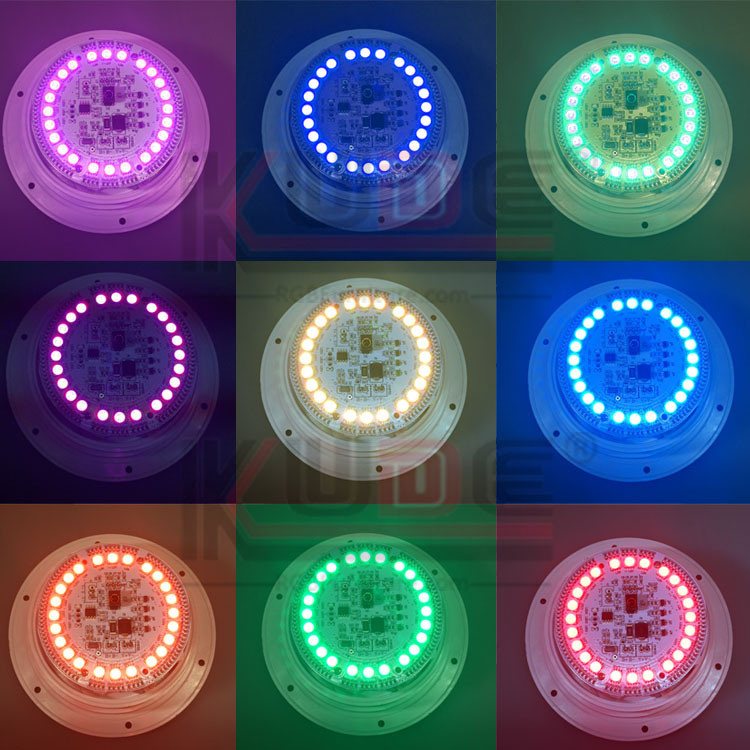 LED Light Source Insert Tables Resturant and Hotel Light Decor