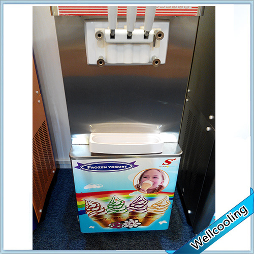 3 Flavors Floor Stand Frozen Ice Cream Maker