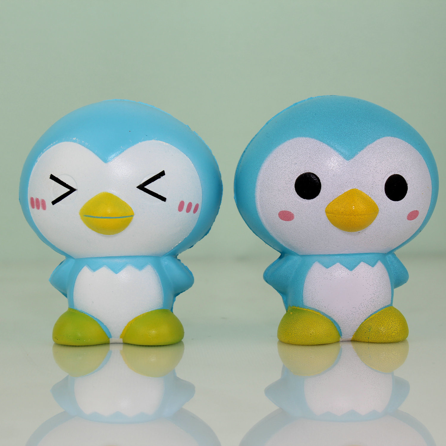 Latest Listing Blue Penguin Model PU Stress Toys