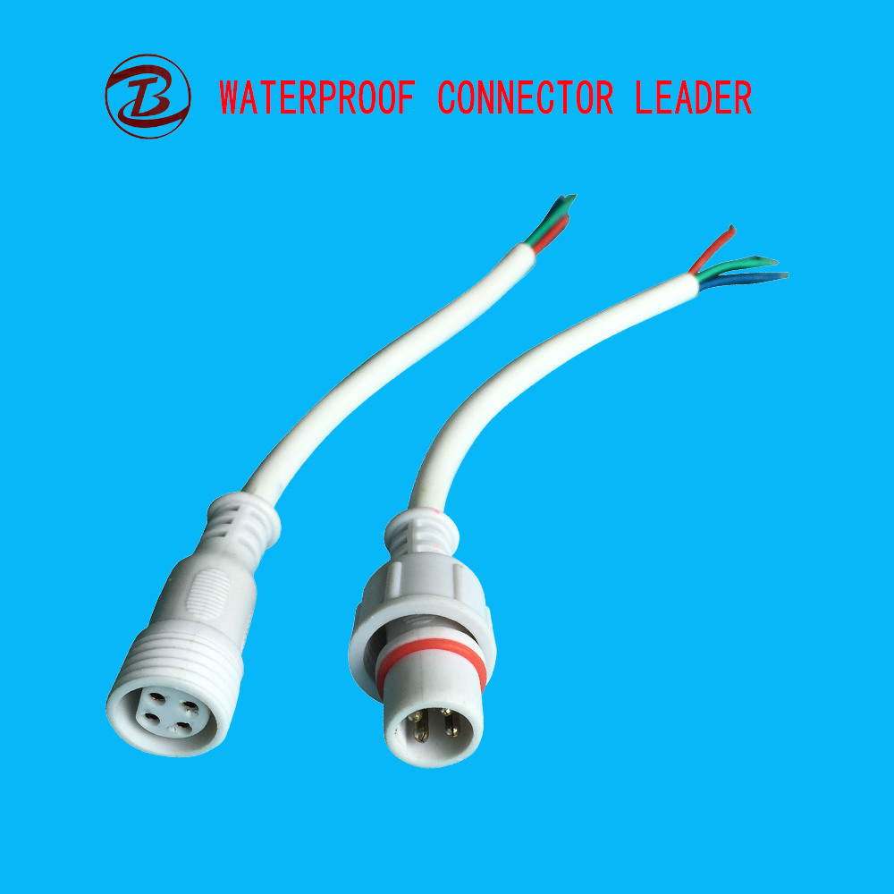 China Ip68 Power Cable Small 4 Pin Female Camlock Waterproof Electrical Wiring Connector Types