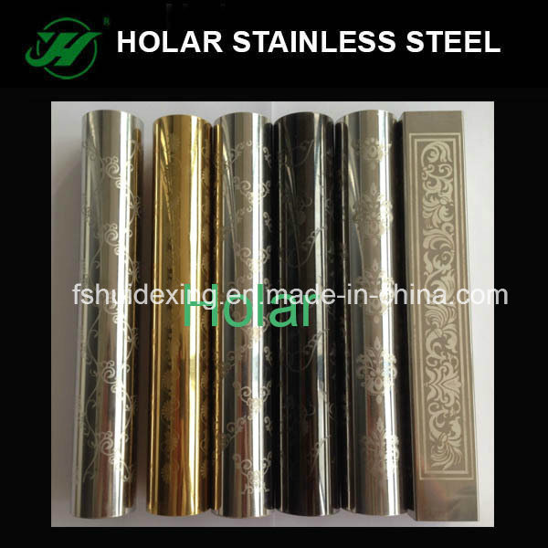 Etching Stainless Steel Tube pictures & photos