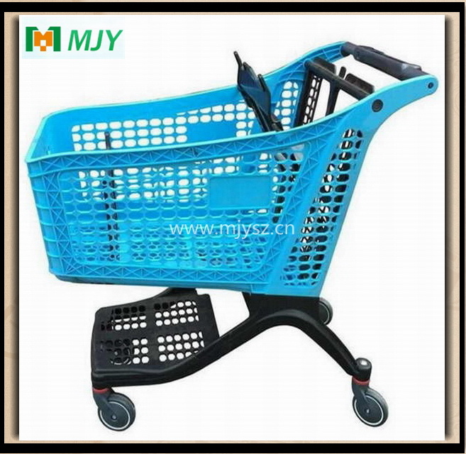 175 Liters All-Plastic Supermarket Shopping Cart Mjy-CPP175