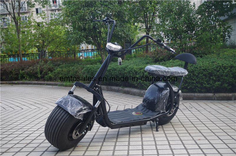 2016 Newest Product Seev Citycoco Electric Scooter with Two Seat and Suspension pictures & photos