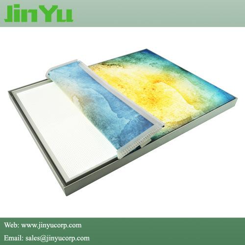 China 33mm Thick Single Side Textile Frame Light Box - China Fabric ...