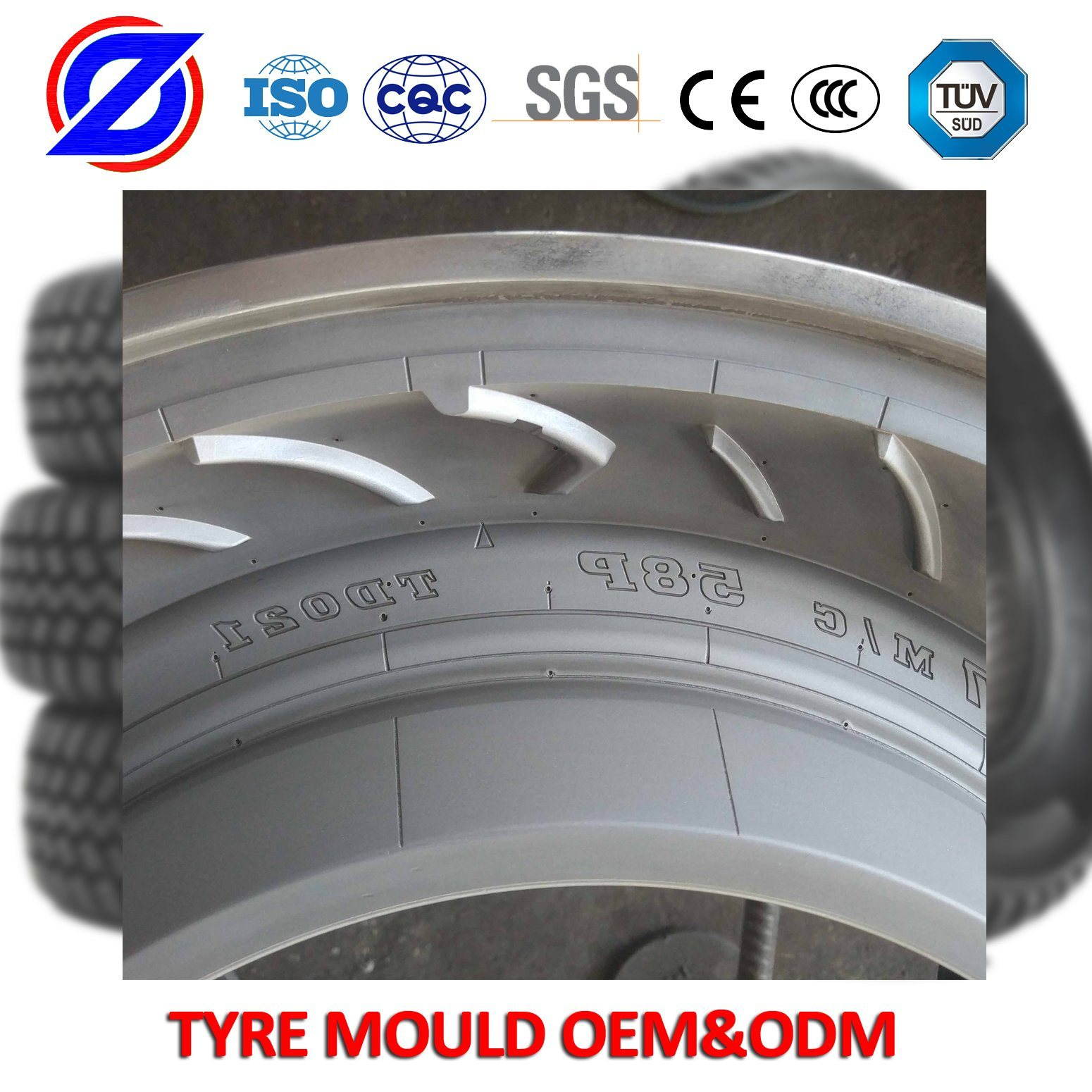 Steel Mould Die Casting Mould Ce Certificated Forging Mould for Motorcycle Tyre pictures & photos