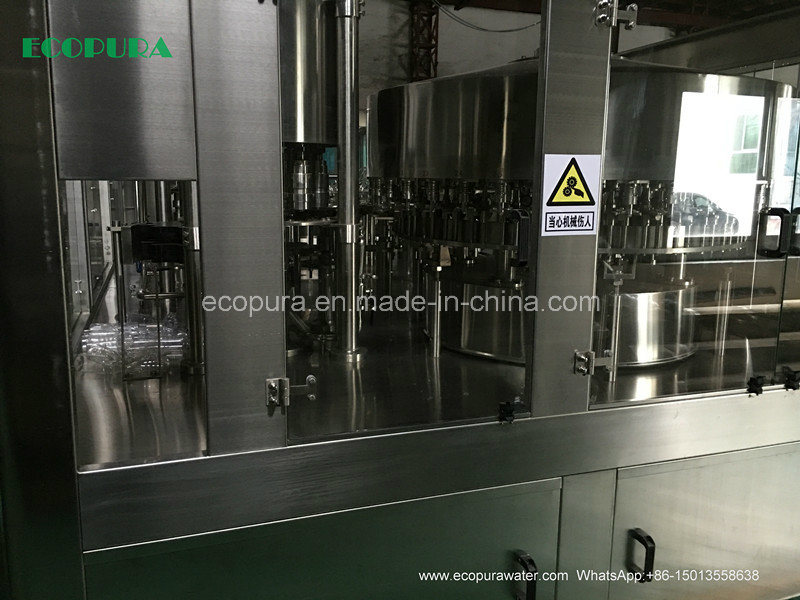 Carbonated Soft Drink (CSD) Filling Machine 3-in-1 Monobloc 5000bph@0.5L