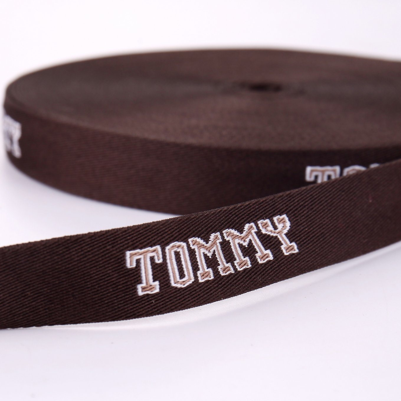 Tommy Polyester Strapping Machine Woven Webbing Jacquard for Handbag