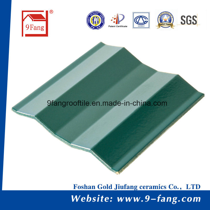 Corrugated Wave Type Ceramic Roofing Color Steel Roof Tiles Made In