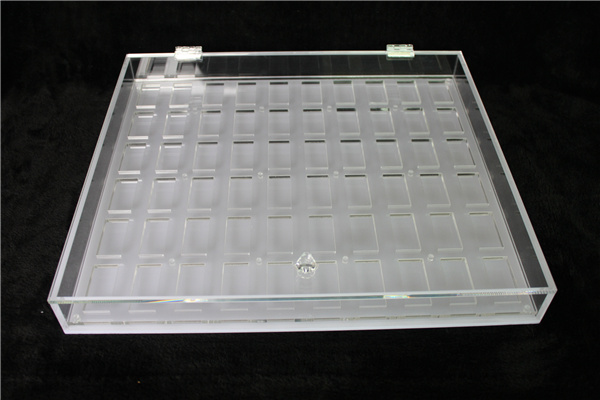 Contact Lens Display Stand, Acrylic Contact Lens Organizer Box
