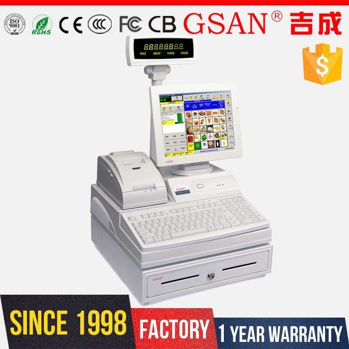 China Cash Register for Convenience Store Point of Sale