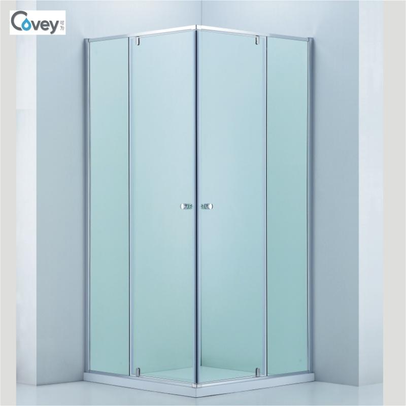 China Corner Shower Cabin with Double Pivot Hinge Door (A-CVS048 ...