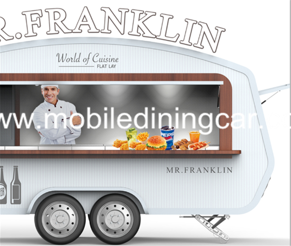 China Mobile Catering Kiosk Street Food Truck with Kitchen Equipment ...
