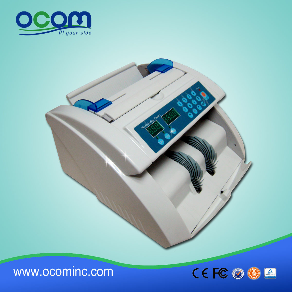 High Speed Currency UV/Mg Money Counter, Cash Counter pictures & photos