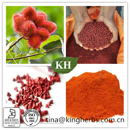 China Natural Colorant Annatto Extract: Carmine 30% by UV-Vis ...