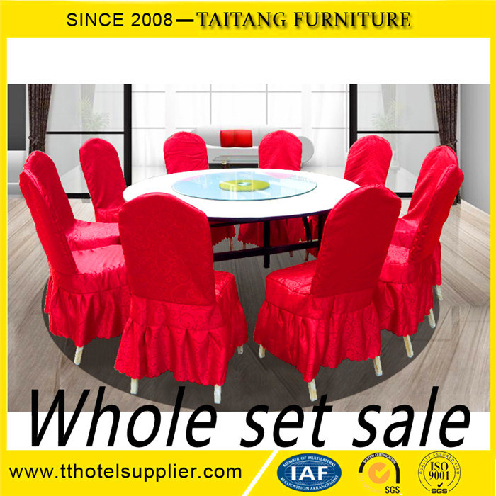 Factory Cheap Used Banquet Tables Round Folding For Hotel