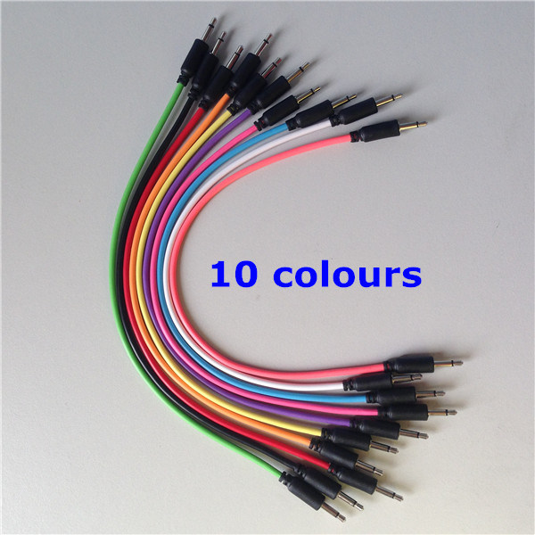 "3.5mm 1/8"" Modular Patch Cables 6.35mm 1/4"" Patch Cables Cords pictures & photos"
