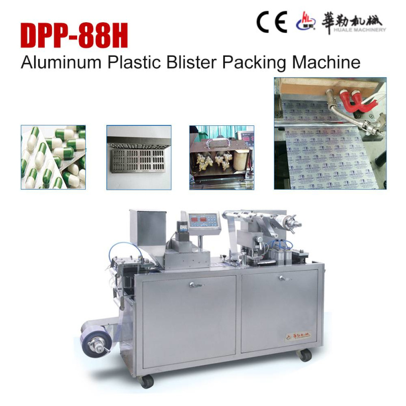 Dpp-88h Mini Blister Packing Machine for Tablets