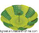 Lotus Plus Folding Non-Scratch Steamer Basket Cookware