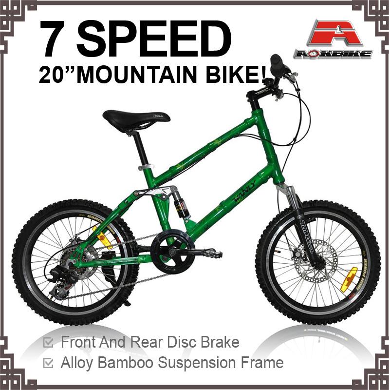 China 20 Inch Bamboo Alloy Mountain Bicycle (KB-M2002) - China ...