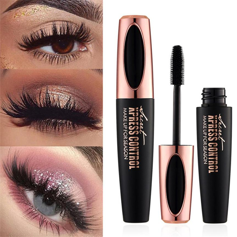 20364f3c488 China Best Selling Products 4D Silk Fiber Lash Mascara Waterproof Eyelash  Extension Black Thick Lengthening Eye Lashes Cosmetics - China 4D Mascara,  ...