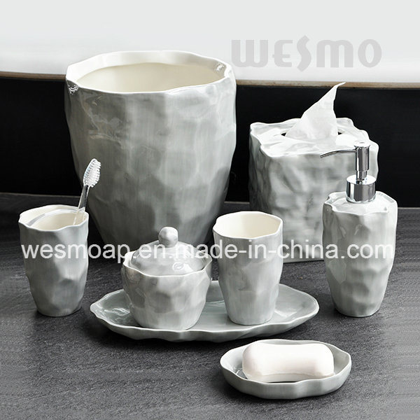Organic Porcelain Bathroom Accessories (WBC0845A) pictures & photos